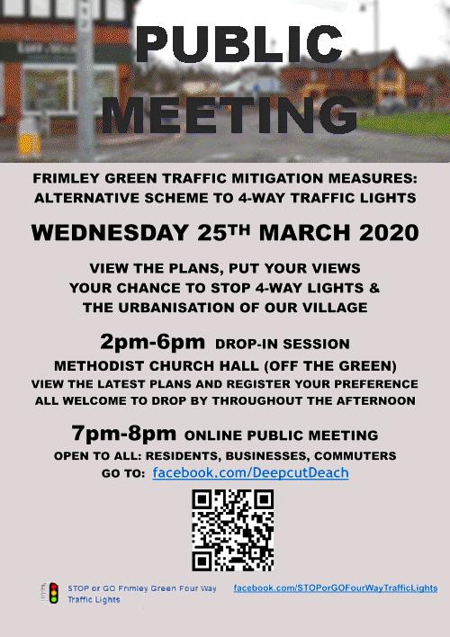 Public Meeting on alternate scheme